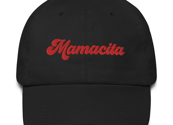 Mamacita Hat - Red Embroidery