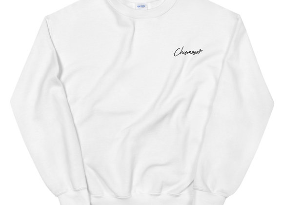 Chismosa Sweatshirt - Black Embroidery