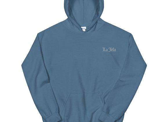 La Jefa - Silver Embroidery Unisex Hoodie