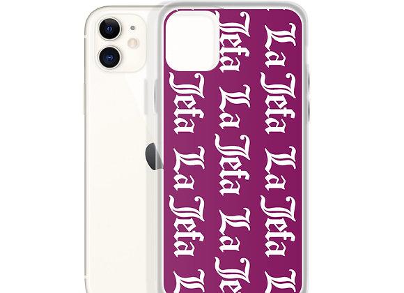 La Jefa Stamp - iPhone Case