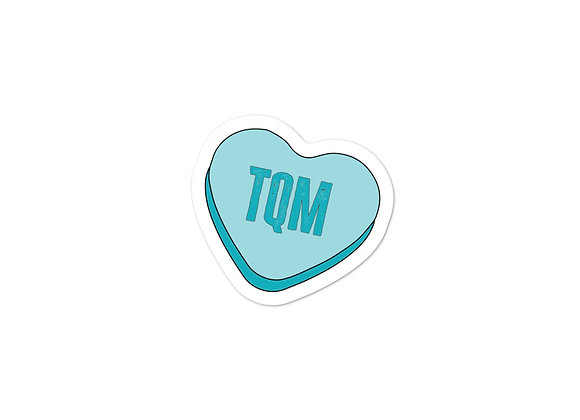 TQM Bubble-Free Stickers