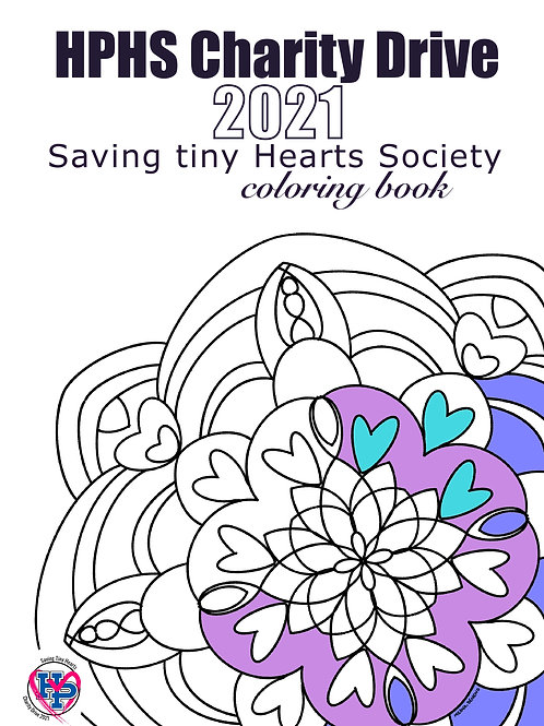 Coloring Book- 1 For You and 1 For a Child In the Hospital