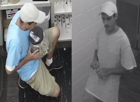 Dalton PD looking for man who stole donation jar full of money from Providence Ministries