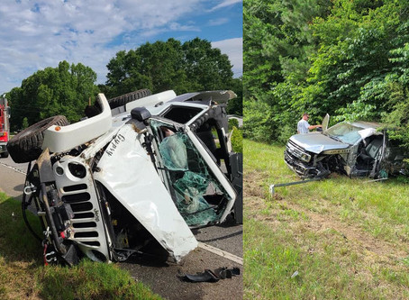 Two people injured in head-on crash Monday on Highway 27 in Chattooga County