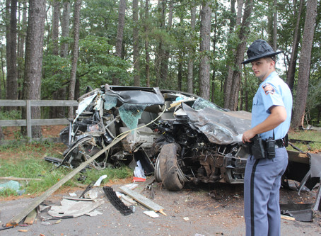 Trion man miraculously survives horrific crash last Wednesday in Chattooga County