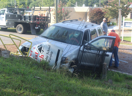 LaFayette woman charged with DUI, drug and theft charges after crash in Chattooga County last week