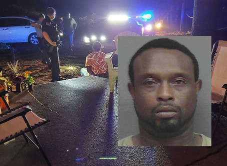 Calhoun man arrested on slew of charges after leading GSP Trooper on chase Sunday in Gordon Co.
