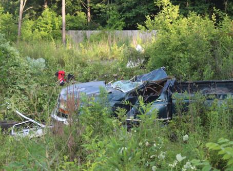 Two injured in crash on Old Trion Highway Tuesday evening in Walker County