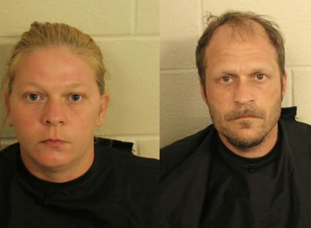 Cedartown woman and New York man arrested after burglarizing Armuchee home