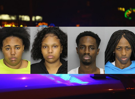 Wild high-speed pursuit of four Chattanooga armed robbery suspects from Florida ends near Atlanta