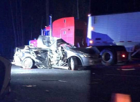 Semi driver struck and killed on the side of I-75 in Whitfield County Wednesday