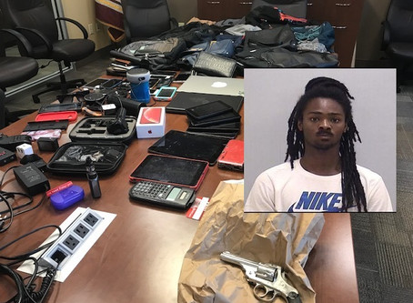 Catersville Police arrest felon wanted for dozens of entering autos