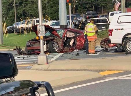 Fatal crash in Bartow County Sunday, suspect carjacks vehicle after crash