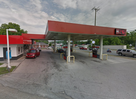 Rossville man arrested after shooting ex-girlfriend during domestic at Catoosa County gas station