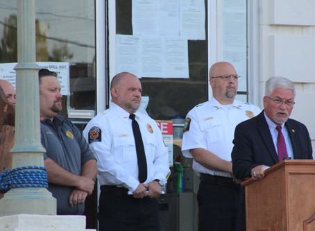 Walker County holds ceremony Friday morning remembering September 11th