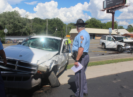 Two drivers cited after being injured in two-vehicle crash in Walker County Thursday afternoon