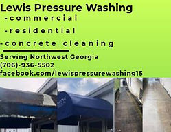 Lewis Pressure Washing