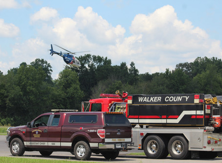 Man airlifted to Erlanger after falling through roof in LaFayette Sunday afternoon