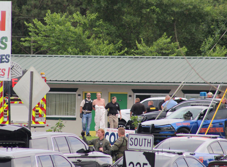 Fugitive apprehended in Gordon County on Tuesday at a local motel after standoff with GSP SWAT