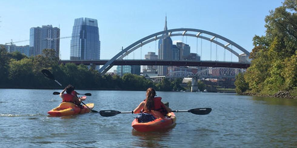 Kayak the Nashville Skyline
