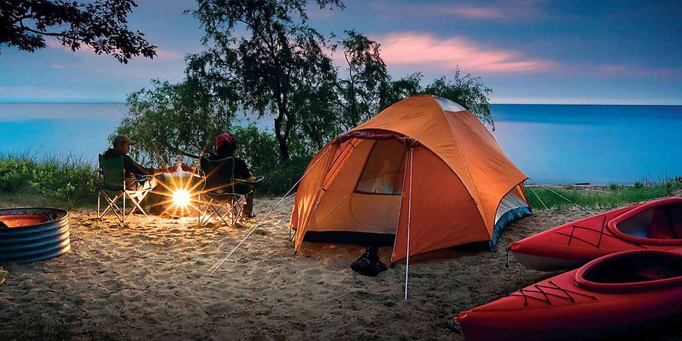 The Ultimate Lakeside Campout