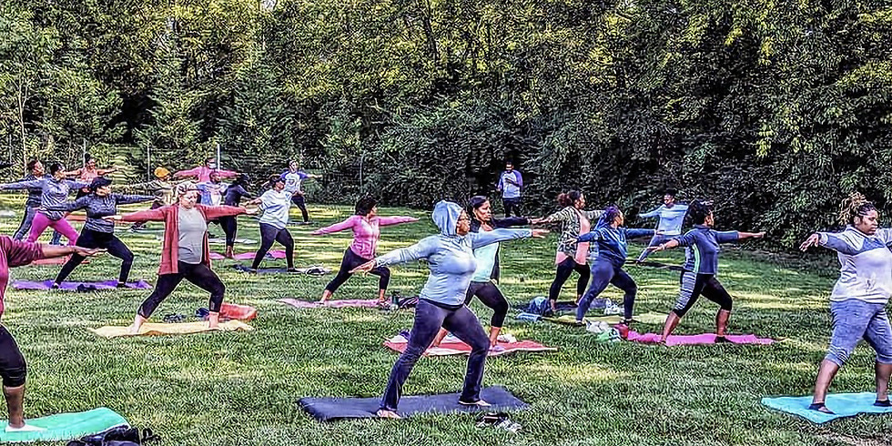 Outdoor Yoga + Coffee at Grams