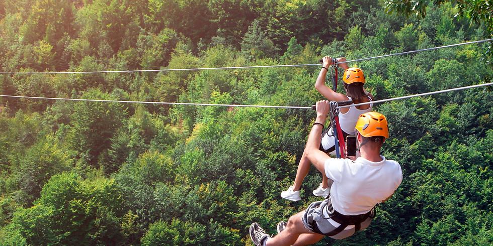 Fall Zip line + Aerial Adventure