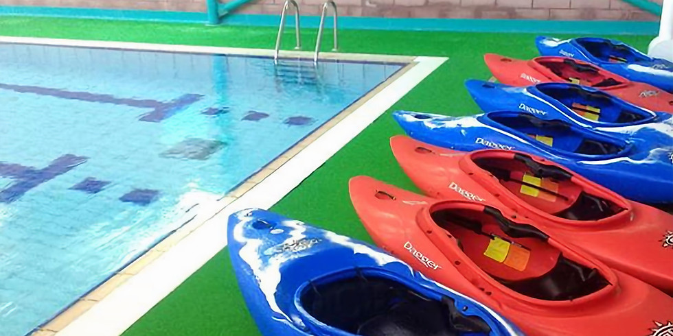 Learn to Kayak in an Indoor Pool