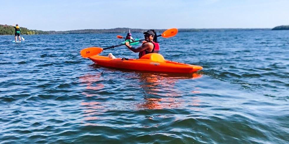 Beginner Kayaking + Lakeside Meditation