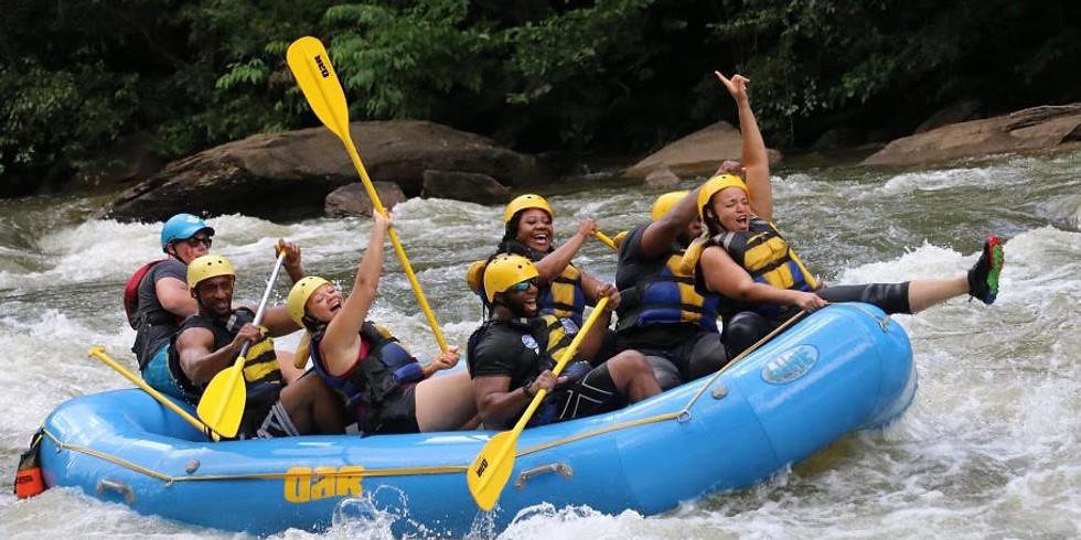 White Water Rafting down the Ocoee River