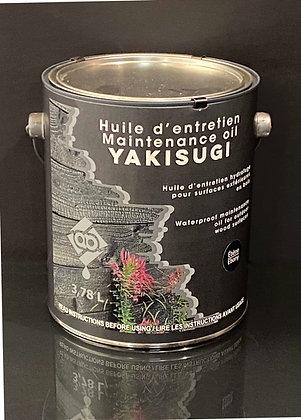Huile d'entretien pour Yakisugi 3,78L