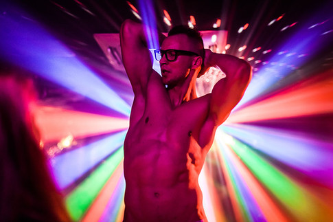 VICE Magazine - men strip