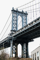 Manhattan Bridge.  New Yor   2019