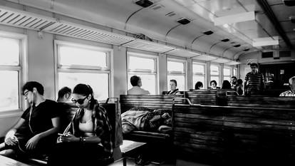 In the train. Armenia 2017