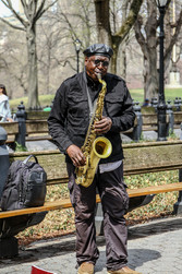 Musician in Central Park.  New York | 2019