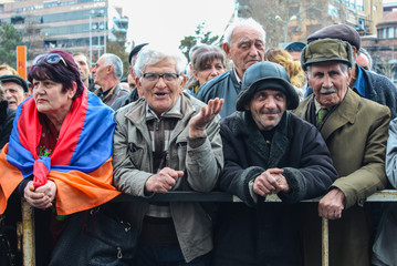 During protests. Yerevan | Armenia