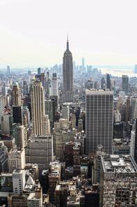 Top of Rockefeller center.  New York   2019