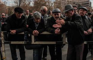 During protests. Yerevan   Armenia