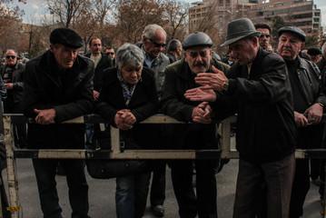 During protests. Yerevan | Armenia