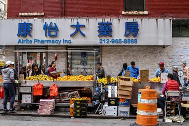 Chinatown.  New York   2019