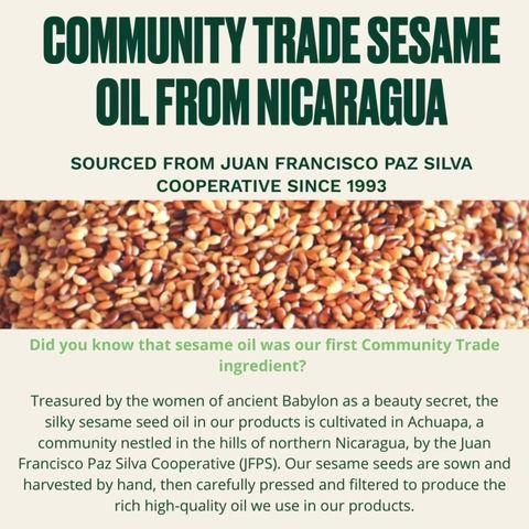 Community Trade Sesame Oil