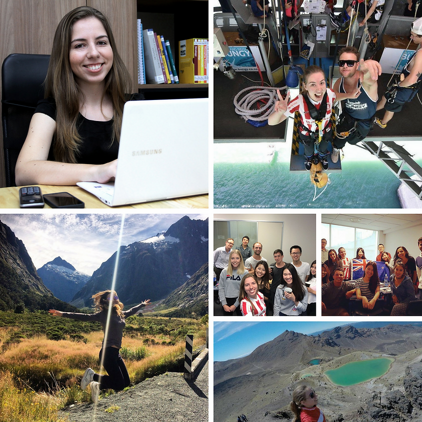 """CONVERSA SINGULARI """"O valor de uma experiência internacional - Nova Zelândia"""""""