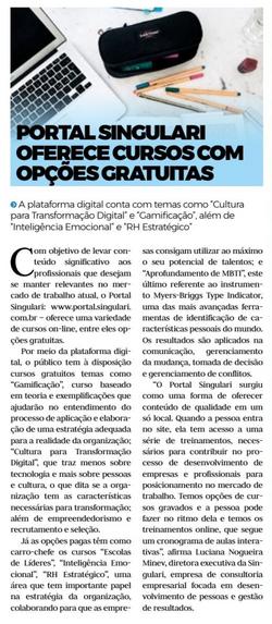 Portal Singulari Jornal Toda Hora
