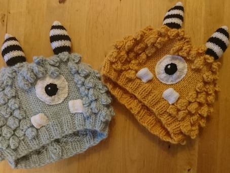 Little Monster Hats!