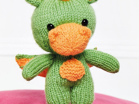 Is it a bird?... Is it a plane?... It's Sparky the Baby Dragon!