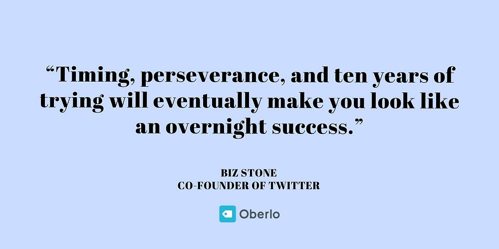 Biz Stone - Business Quotes