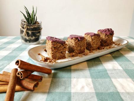 עוגת קינמון טבעונית ללא גלוטן