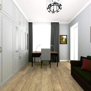 Пример проектирования интерьера