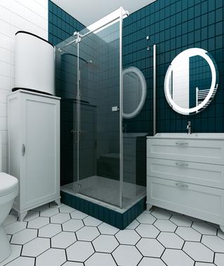 Дизайн ванной комнаты стильно и недорого
