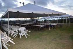 30x40 white top tent